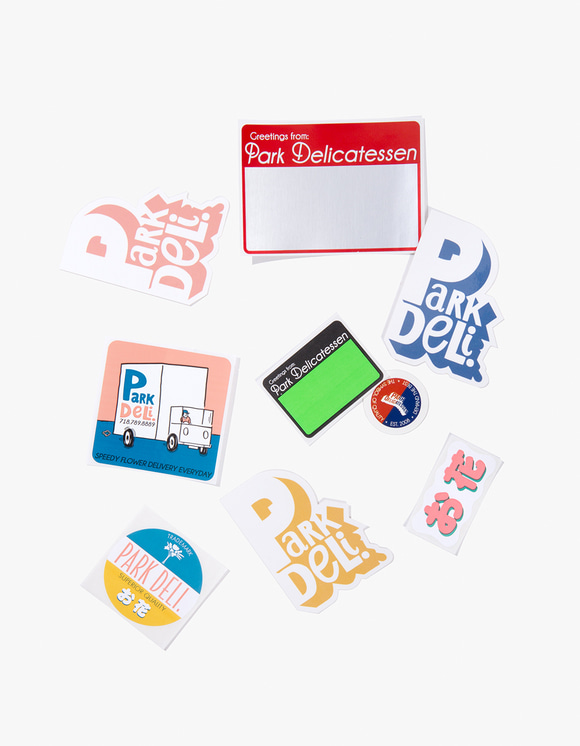 PARK DELI Park Deli Sticker Pack | HEIGHTS. | International Store