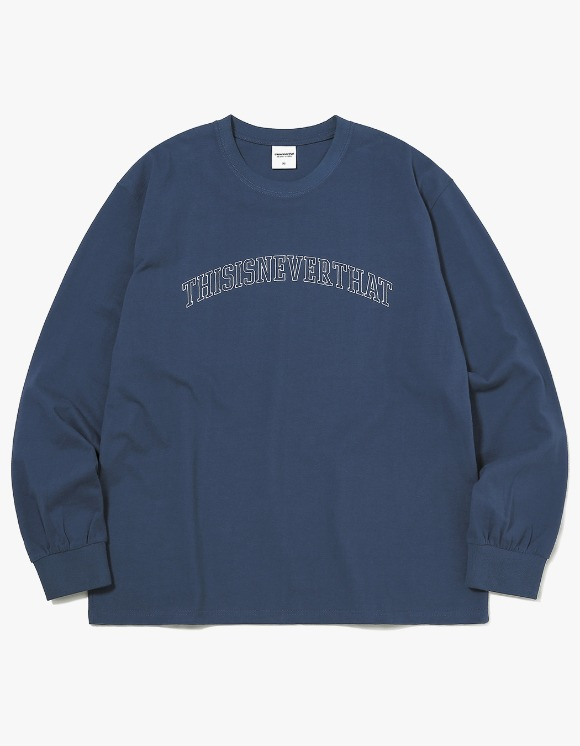 thisisneverthat ARC-Logo L/SL Top - Light Navy | HEIGHTS. | International Store