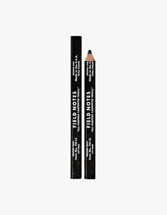 Field Notes Carpenter Pencil - Black | HEIGHTS. | International Store