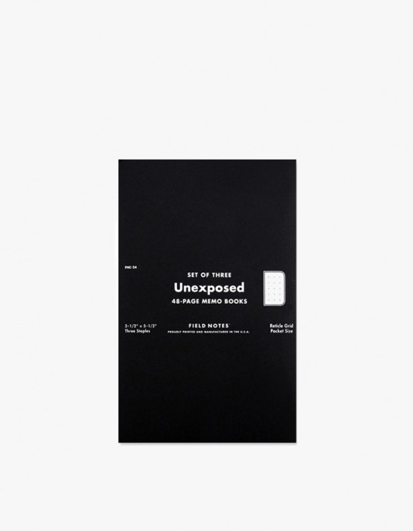 Field Notes Unexposed | HEIGHTS. | International Store