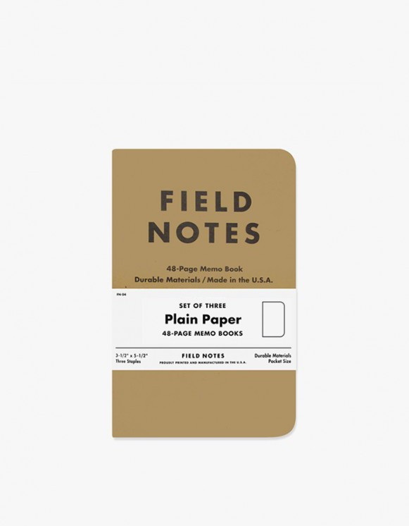 Field Notes Original - Plain Paper | HEIGHTS. | International Store