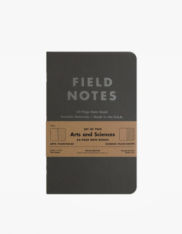 Field Notes Arts and Sciences | HEIGHTS. | International Store