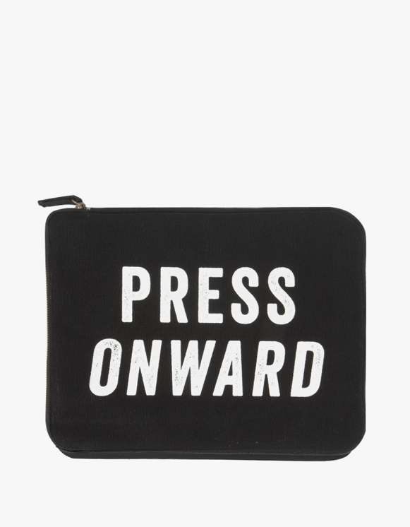 IZOLA NYC Ipad Pouch -  Press Onward | HEIGHTS. | International Store