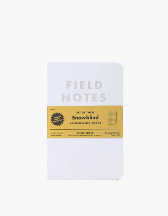 Field Notes Snowbllind | HEIGHTS. | International Store
