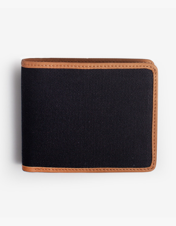 IZOLA NYC Leather-Trimmed Wallets - Black | HEIGHTS. | International Store