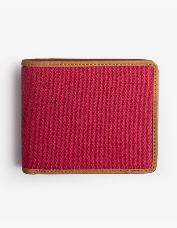 IZOLA NYC Leather-Trimmed Wallets - Red | HEIGHTS. | International Store