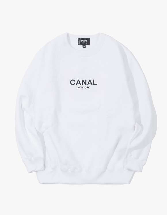 "CANAL NEW YORK Canal ""Premium"" Pullover - White 