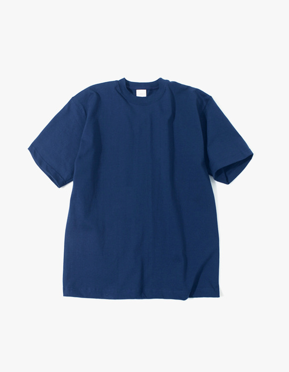 Camber Sportswear Heavy Weight 8oz S/S T-Shirt - Navy | HEIGHTS. | International Store