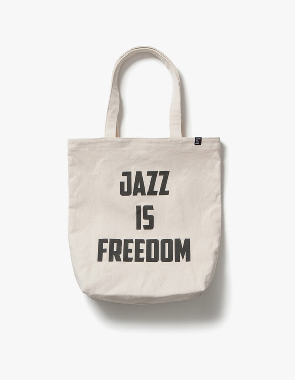 sounds good! Jazz is Freedom Bag - Ivory | HEIGHTS. | International Store