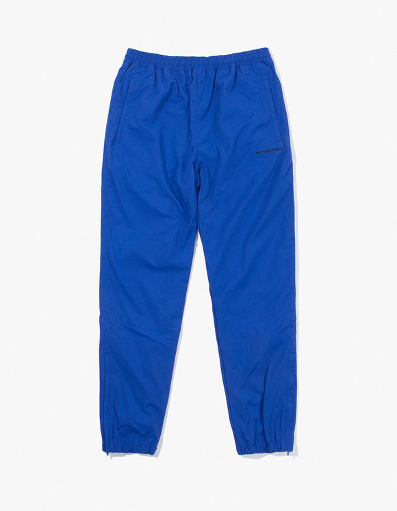 have a good time Side Logo Nylon Track Pants - Blue | HEIGHTS. | International Store