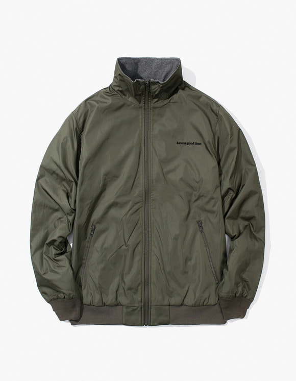 have a good time Usual Fleece Jacket - Olive | HEIGHTS. | International Store