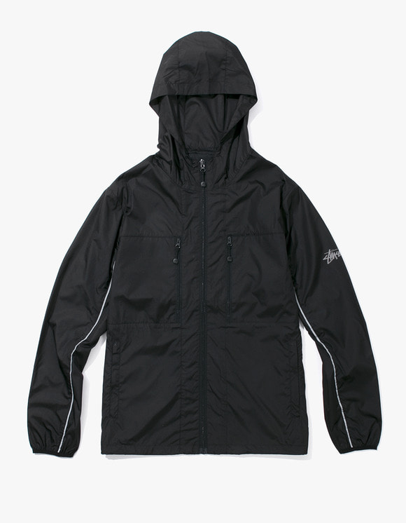 Stussy Nylon Paneled Jacket - Black | HEIGHTS. | International Store