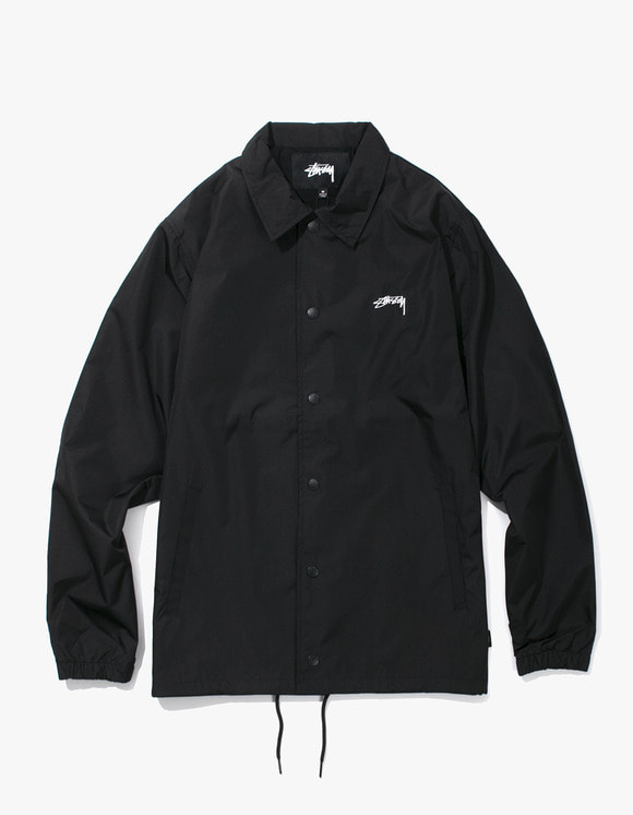 Stussy Cruize Coach Jacket - Black | HEIGHTS. | International Store