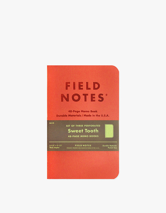 Field Notes Sweet Tooth | HEIGHTS. | International Store