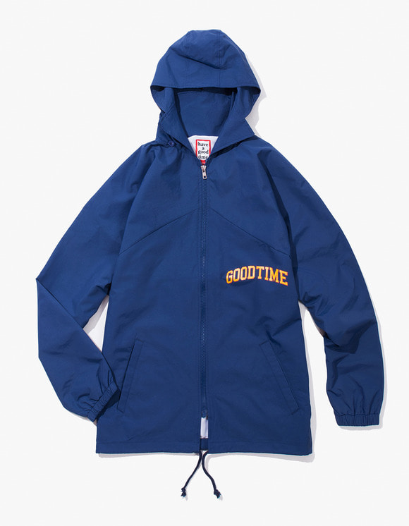 have a good time College Zip-up Jacket - Navy | HEIGHTS. | International Store