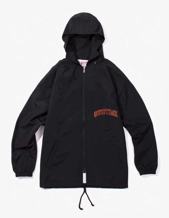 have a good time College Zip-up Jacket - Black | HEIGHTS. | International Store