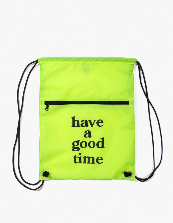 have a good time Logo Knapsack - Lime | HEIGHTS. | International Store