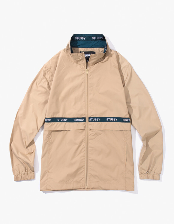 Stussy Lewis Track Jacket - Beige | HEIGHTS. | International Store
