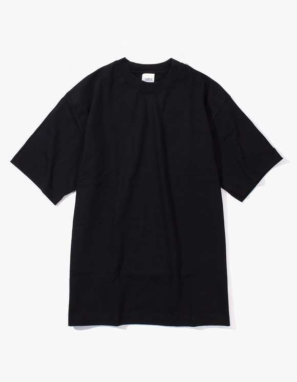 Camber Sportswear Heavy Weight 8oz S/S T-Shirt - Black | HEIGHTS. | International Store