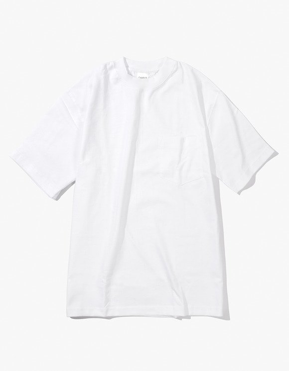 Camber Sportswear Heavy Weight 8oz Pocket S/S T-Shirt - White | HEIGHTS. | International Store