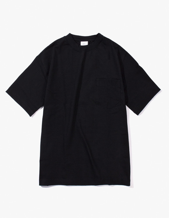 Camber Sportswear Heavy Weight 8oz Pocket S/S T-Shirt - Black | HEIGHTS. | International Store