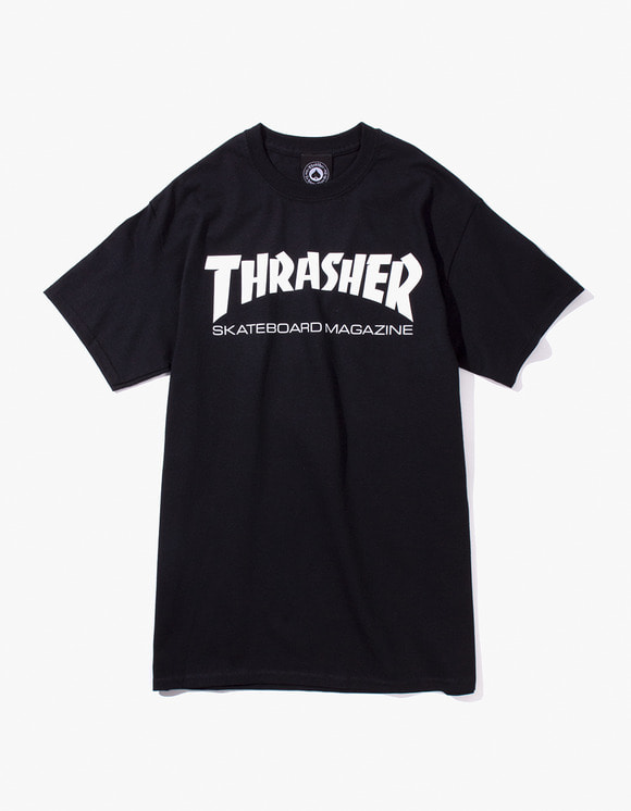 Thrasher Skate Mag S/S Tee - Black | HEIGHTS. | International Store