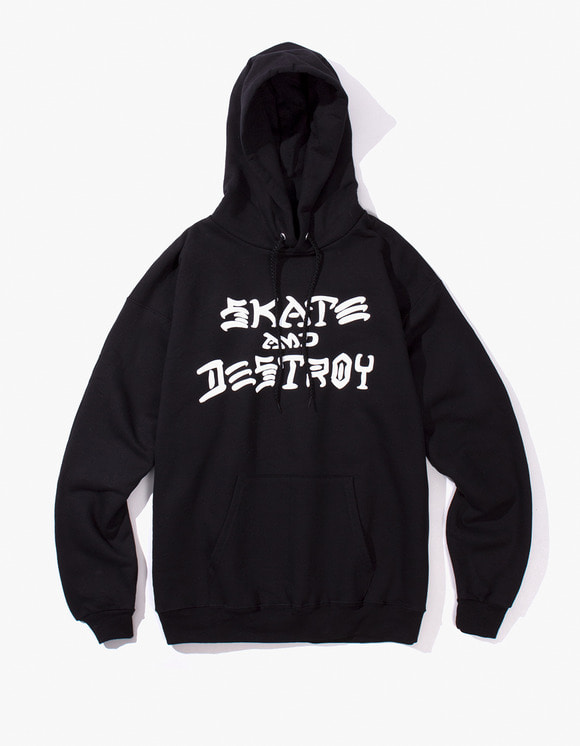 Thrasher Skate and Destroy Hood - Black | HEIGHTS. | International Store