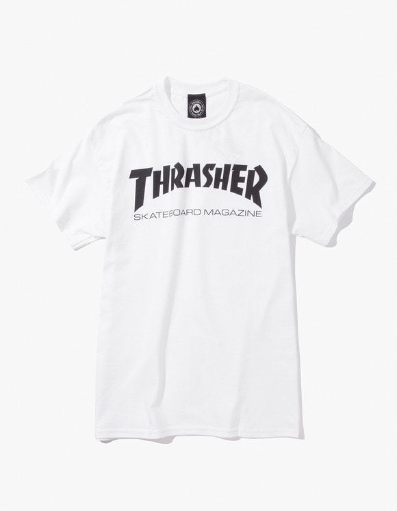 Thrasher Skate Mag S/S Tee - White | HEIGHTS. | International Store