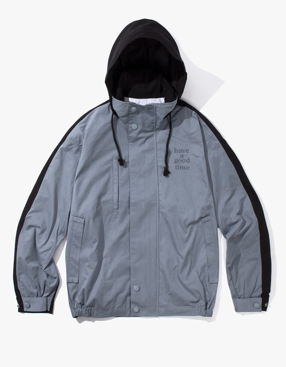 have a good time 2 Face Jacket - Dark Grey/Black | HEIGHTS. | International Store