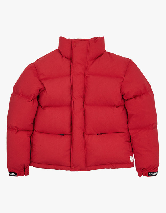 Heritage Floss 700 Puffy Goose Down Jacket - Red | HEIGHTS. | International Store