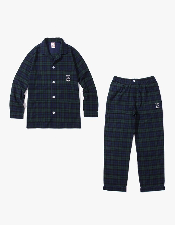 have a good time Have A Good Night Pajama Set - Navy/Dark Green | HEIGHTS. | International Store