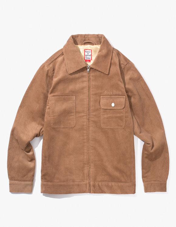 have a good time Good Times Corduroy Jacket - Brown | HEIGHTS. | International Store