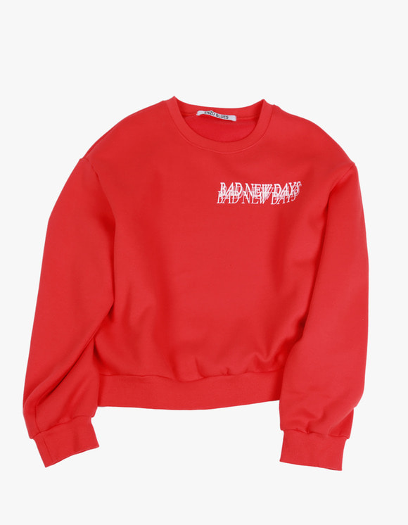 ENZO BLUES BND Sweatshirt - Cherry Red | HEIGHTS. | International Store