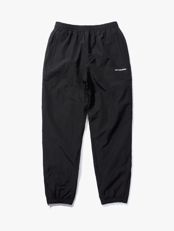 have a good time Side Logo Inner Fleece Pants - Black | HEIGHTS. | International Store