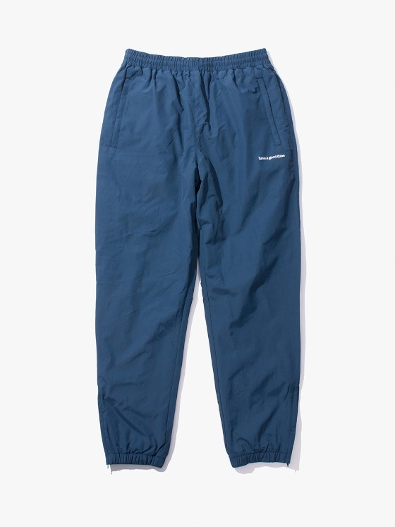 have a good time Side Logo Inner Fleece Pants - Satin Blue | HEIGHTS. | International Store
