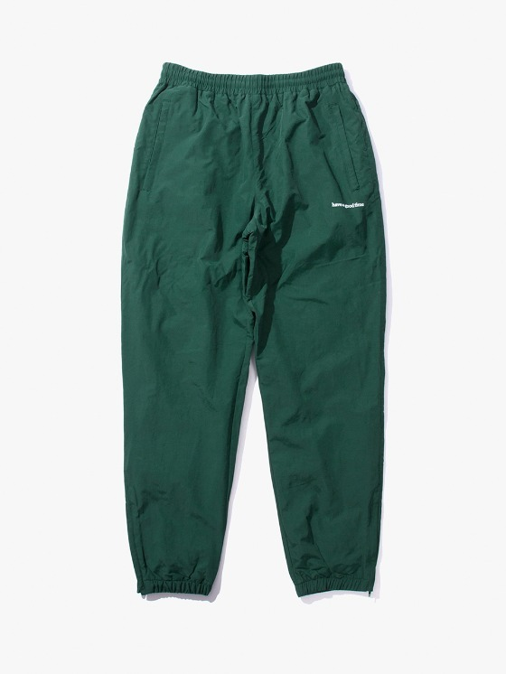 have a good time Side Logo Inner Fleece Pants - Dark Green | HEIGHTS. | International Store