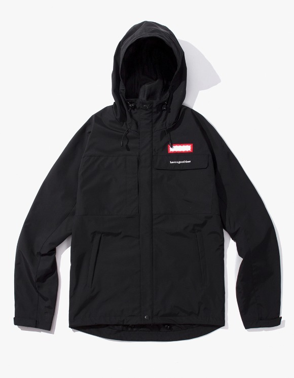 have a good time Mountain Jacket - Black | HEIGHTS. | International Store