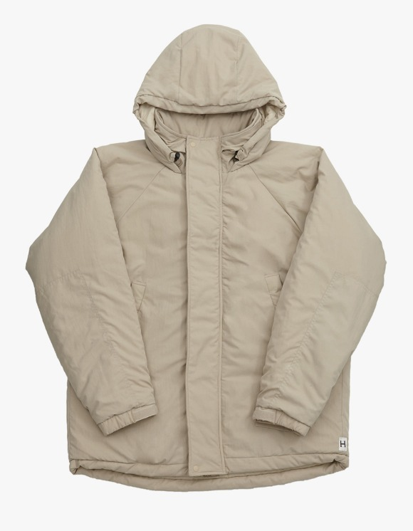 Heritage Floss Cold Parka - Beige | HEIGHTS. | International Store