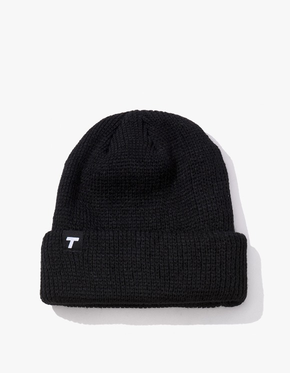 Theobalds Cap Co. Classic cuffed Team Beanie - Black | HEIGHTS. | International Store