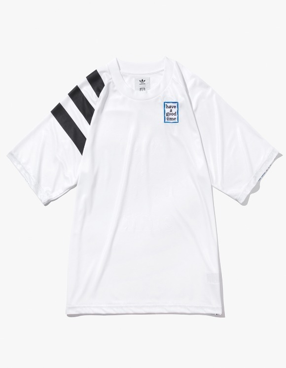 have a good time HAGT X ADIDAS Game Jersey - White | HEIGHTS. | International Store