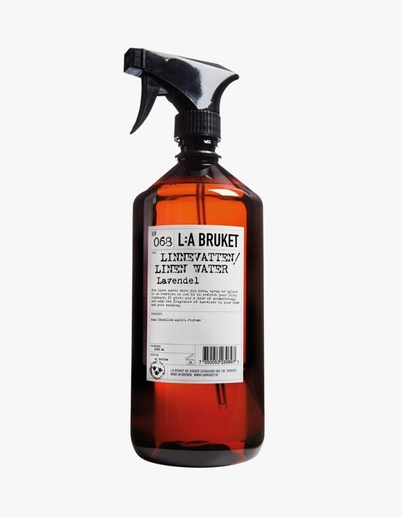 L:a Bruket Linen Water - Lavender (1000ml ) | HEIGHTS. | International Store