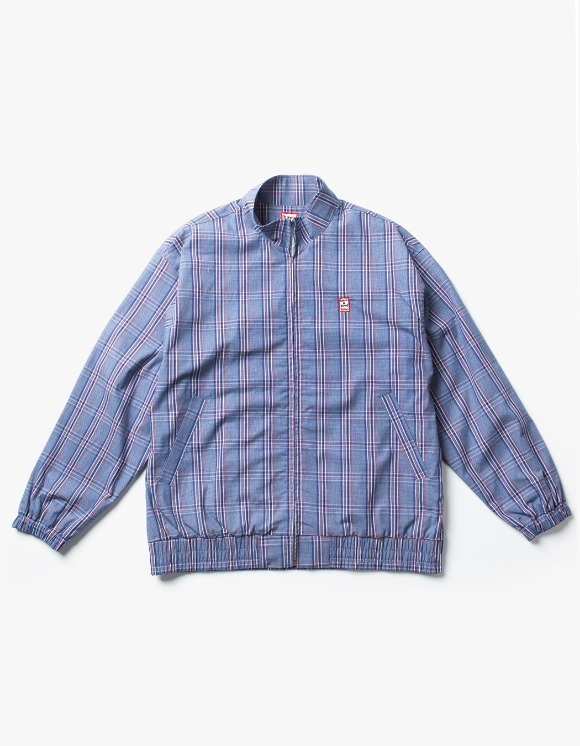 have a good time Check Jacket - Blue | HEIGHTS. | International Store