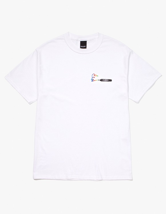 Only NY Marker S/S Tee - White | HEIGHTS. | International Store
