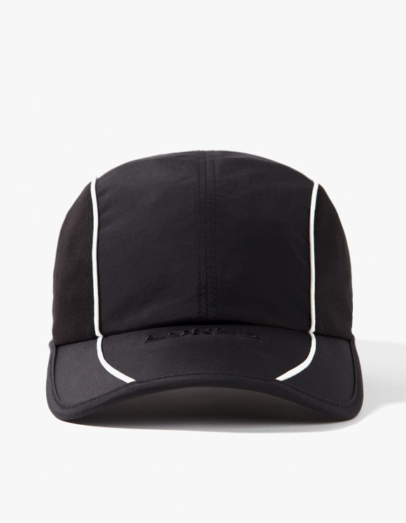 Lores Piping Running Cap - Black | HEIGHTS. | International Store
