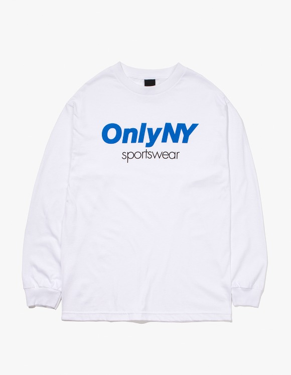Only NY Sportswear L/S T-Shirt - White | HEIGHTS. | International Store