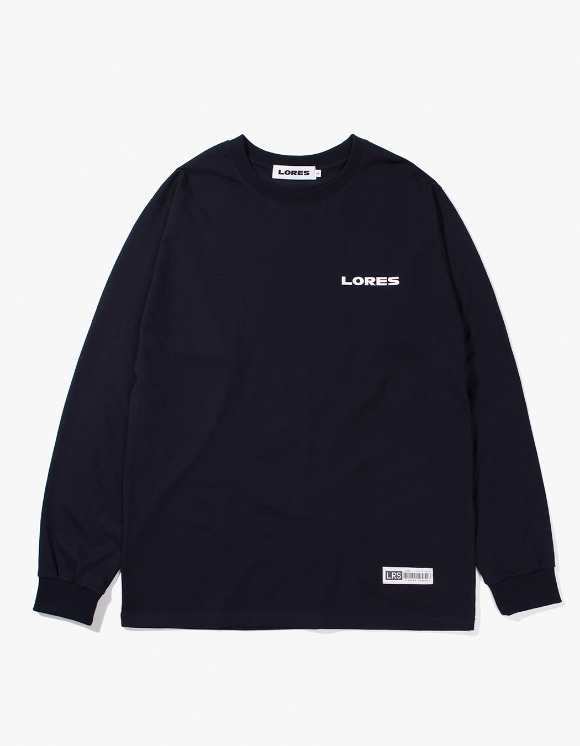 Lores Logo L/S T-shirts - Navy | HEIGHTS. | International Store