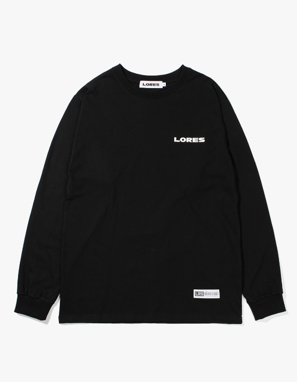 Lores Logo L/S T-shirts - Black | HEIGHTS. | International Store
