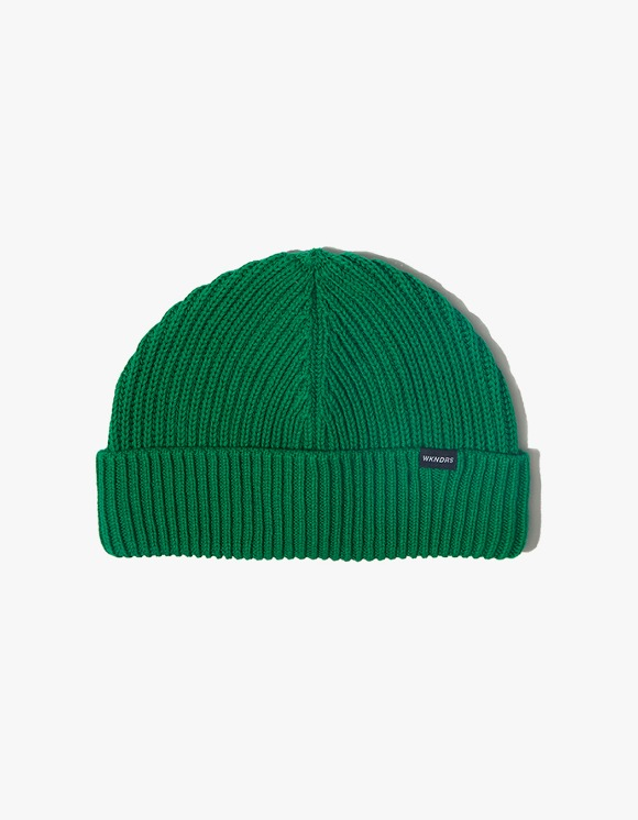 WKNDRS Basic Beanie - Green | HEIGHTS. | International Store