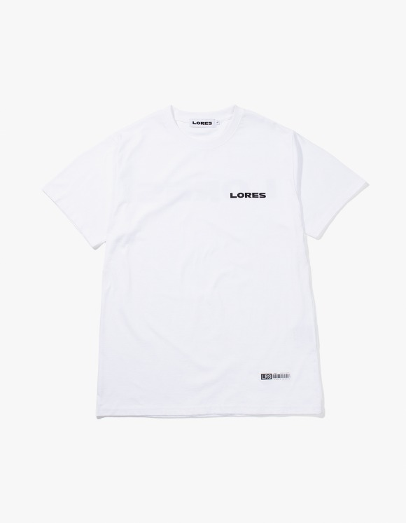 Lores Logo S/S T-shirts - White | HEIGHTS. | International Store