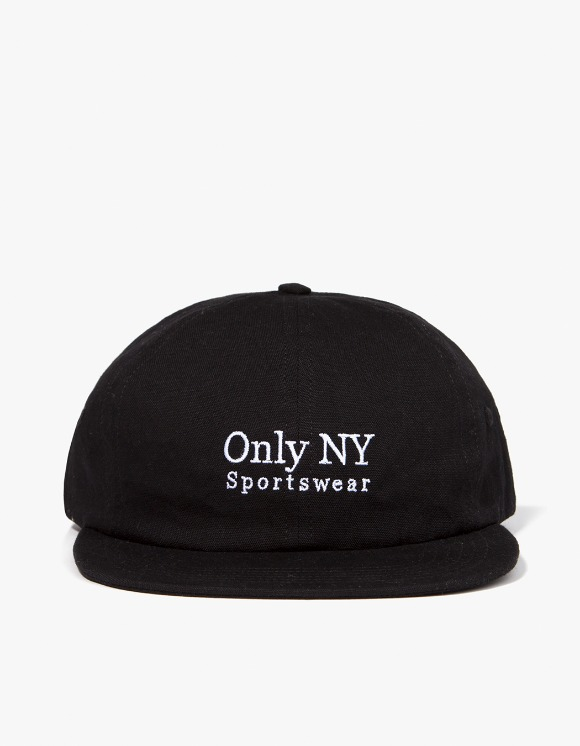 Only NY Guideline Polo Hat - Black | HEIGHTS. | International Store